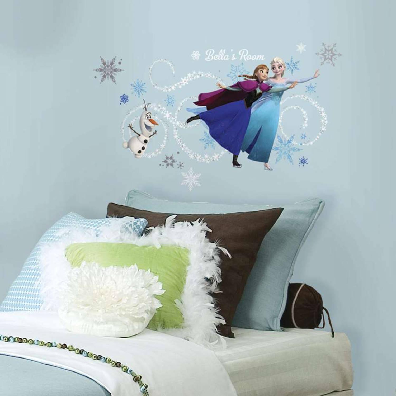 Disney Frozen muursticker voor hoofdbord