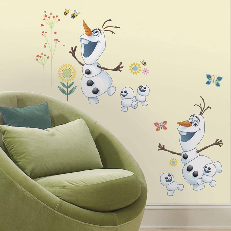 Disney Frozen Fever Olaf Muursticker