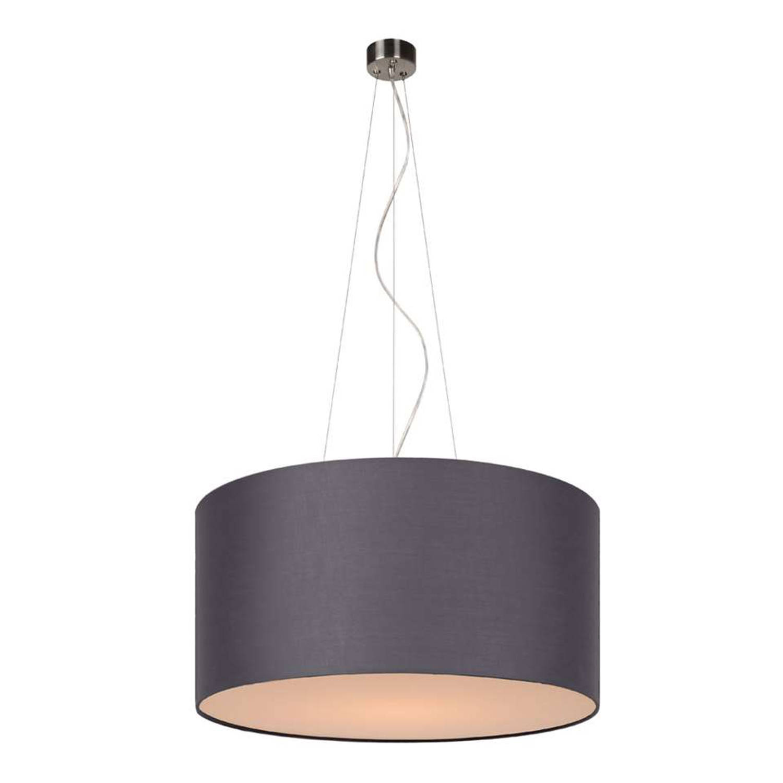 Lucide hanglamp Coral - Ø40 cm - grijs