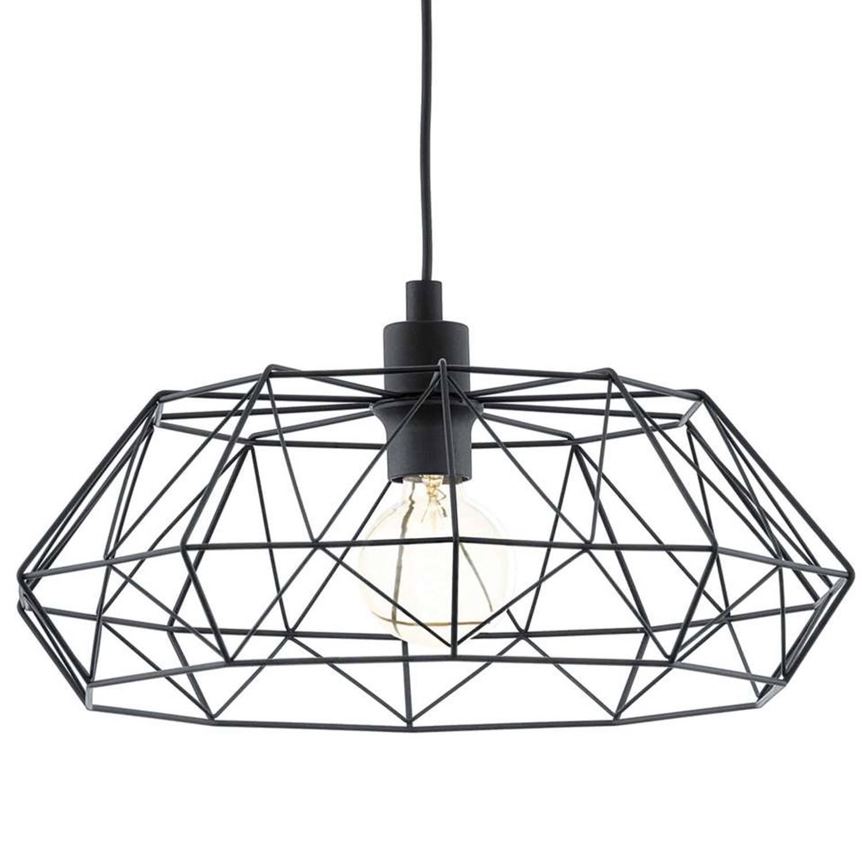 EGLO hanglamp Carlton 2 - zwart   Blokker