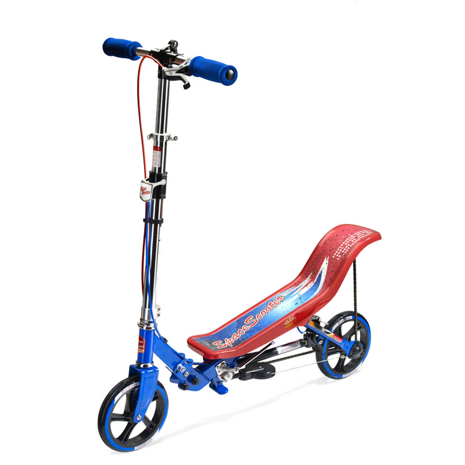 Step Space Scooter - rood/blauw