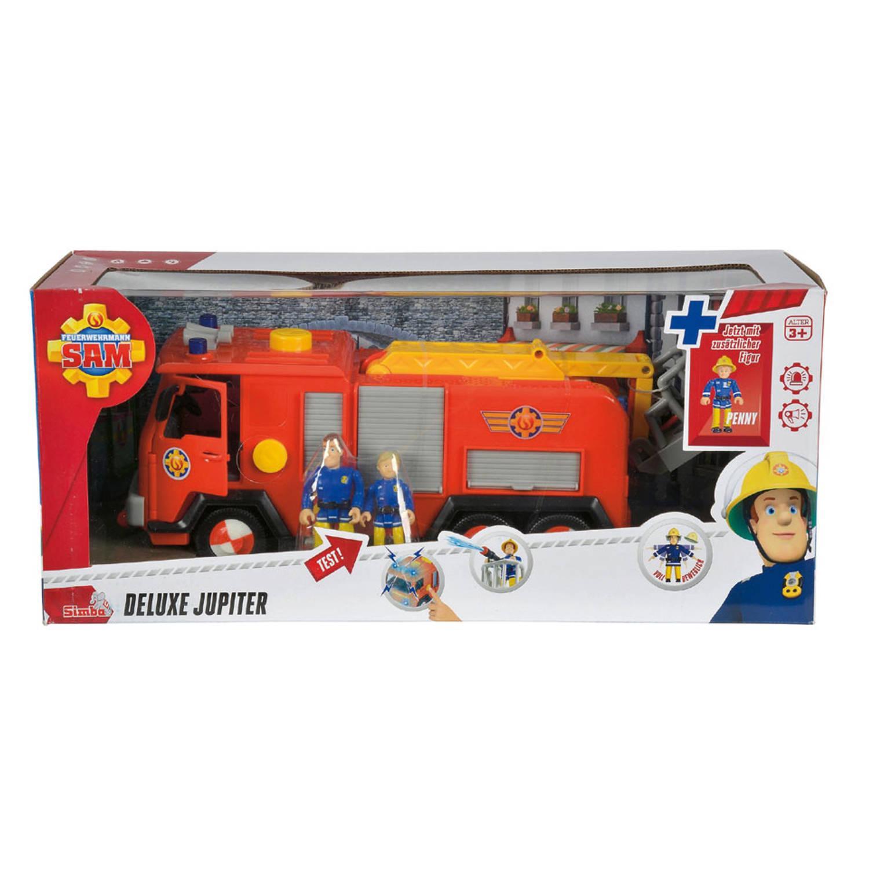 Brandweerman Sam brandweerwagen Jupiter
