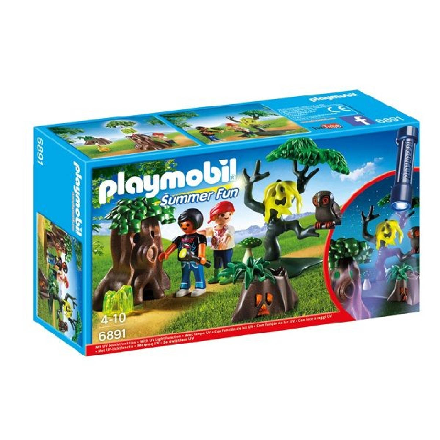 Playmobil Summer fun - Dropping + Lamp 6891