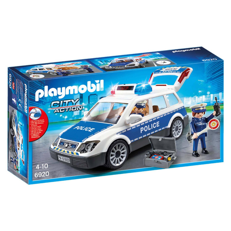 Korting Playmobil City Action Politiepatrouille Met Licht En Geluid 6920