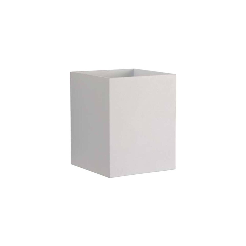 Lucide wandlicht Xera vierkant wit