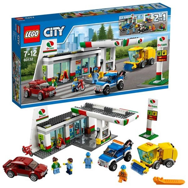 LEGO City benzinestation 60132
