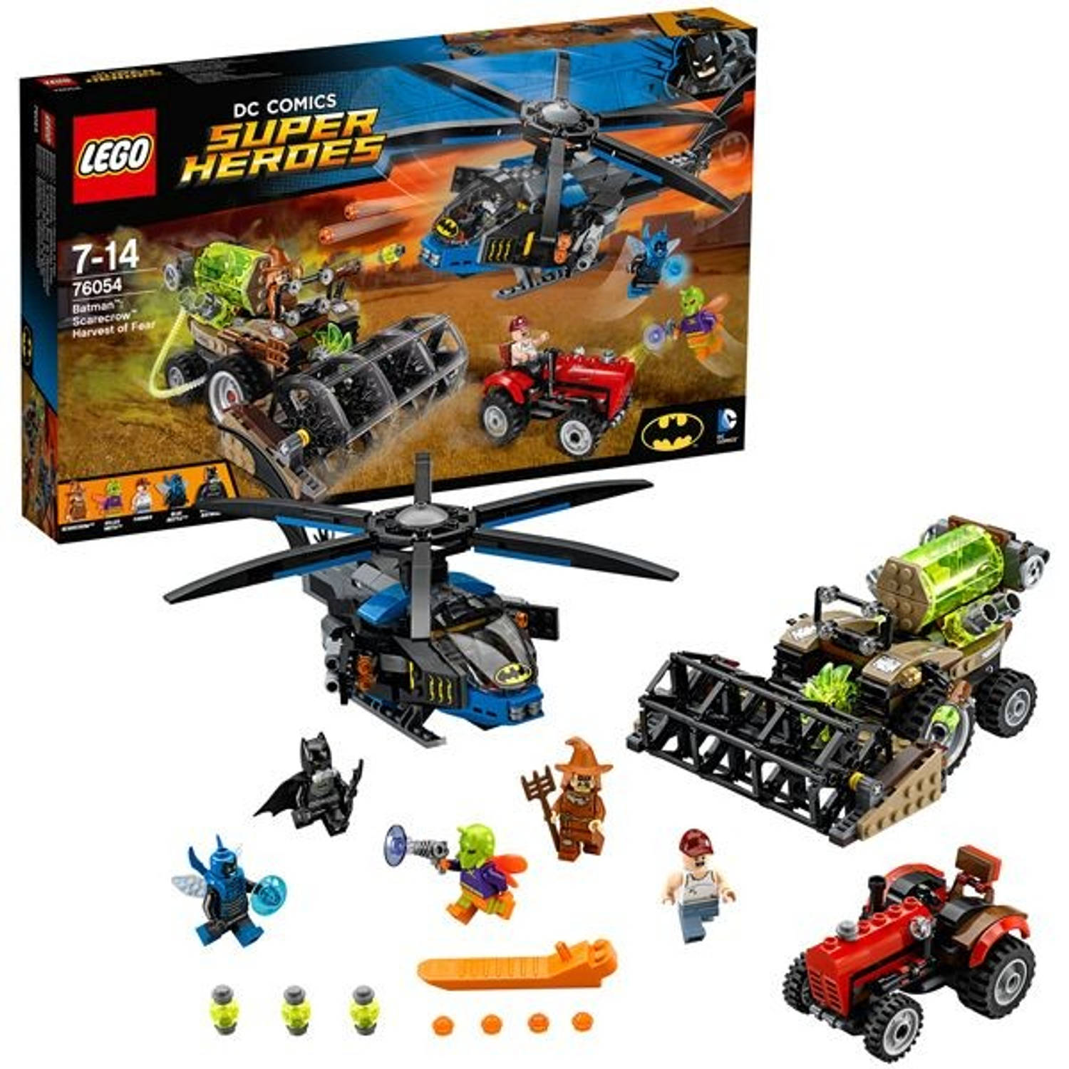 Lego super heroes 76054 batman: scarecrow, harvest of fear