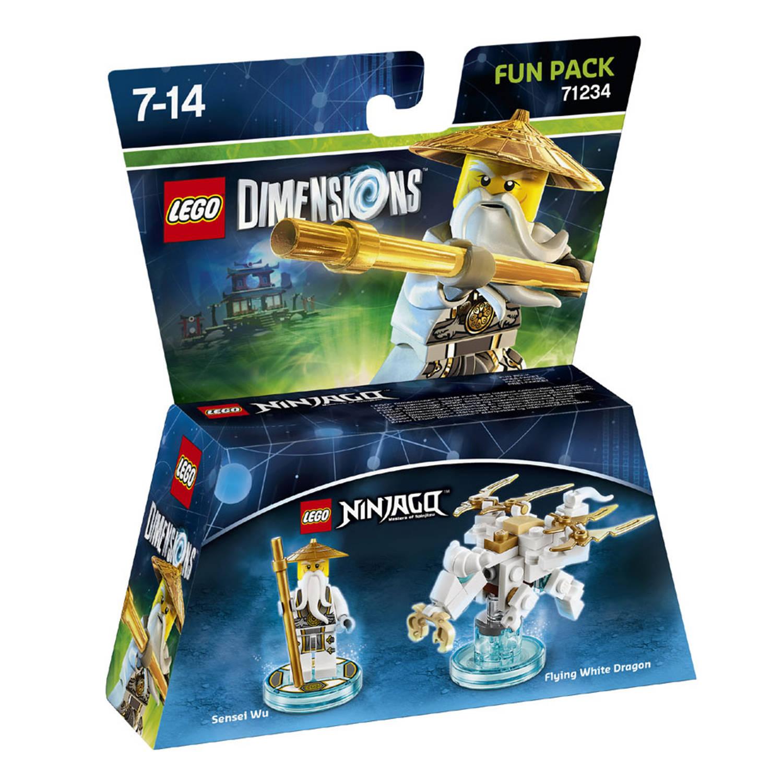 Lego dimensions fun pack, ninjago sensei