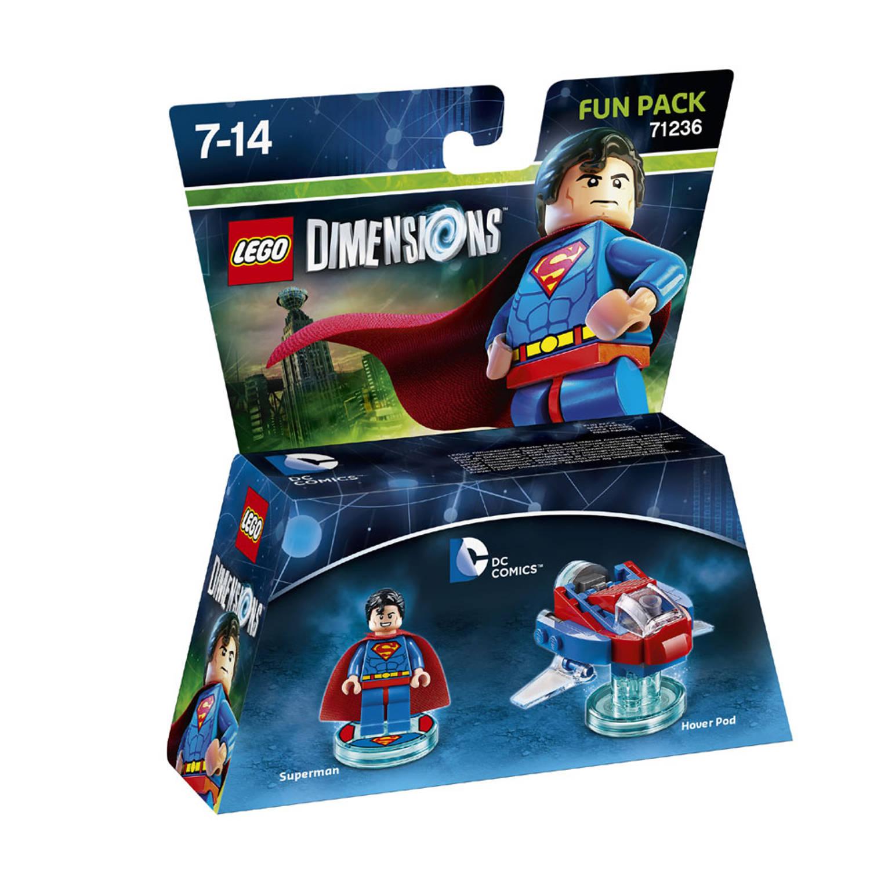 Lego dimensions fun pack, dc comics superman