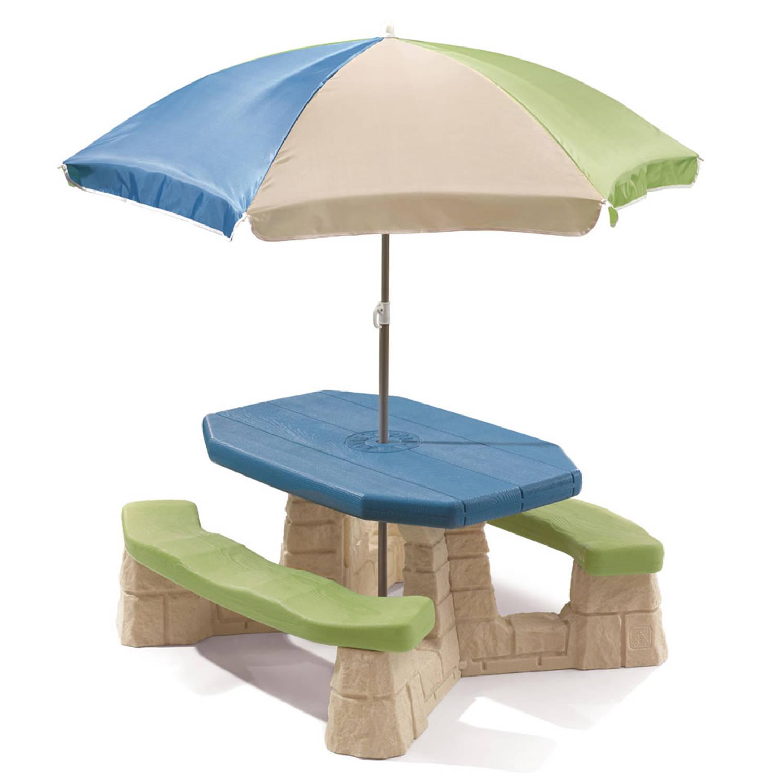 Step2 Picknicktafel Met Parasol
