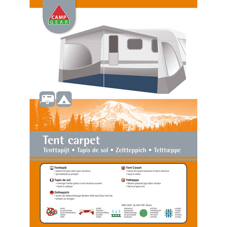 Tenttapijt 3 X 6.Camp Gear Tenttapijt 3 X 5 Meter Blauw