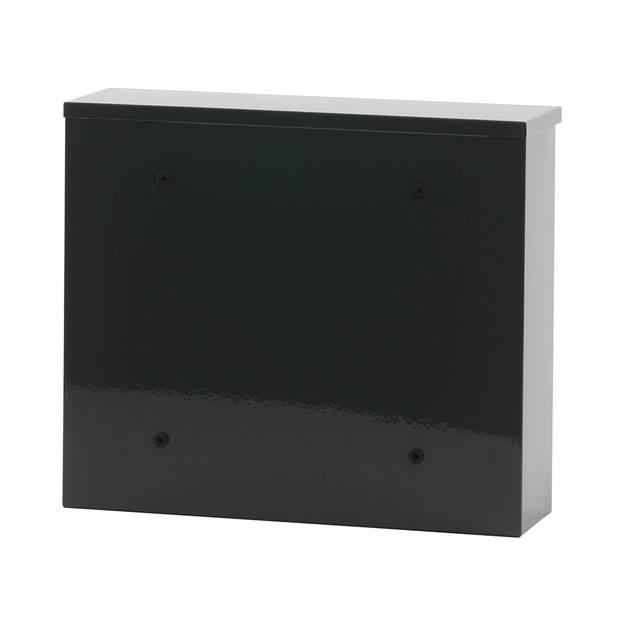 V-Part Granadan wandbrievenbus - 11 x 36 x 31,5 cm - staal - antraciet