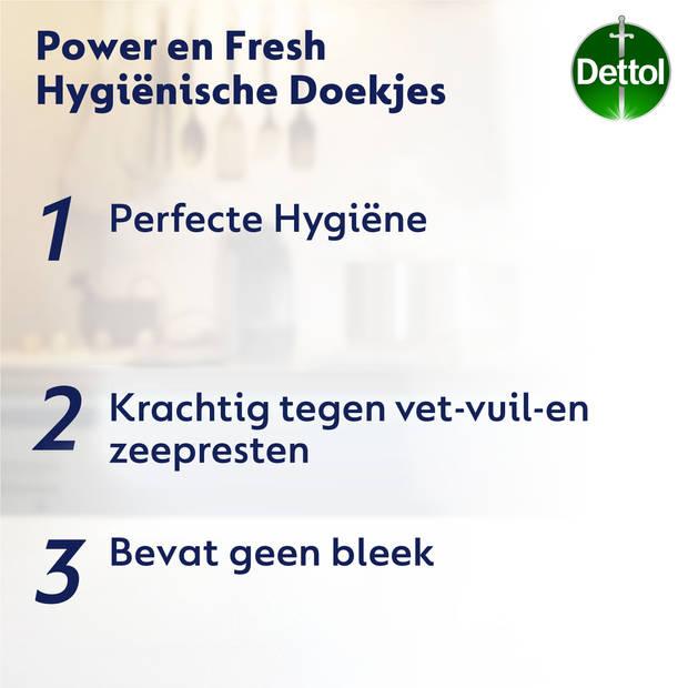 Dettol hygiënische reinigingsdoekjes - 80 stuks