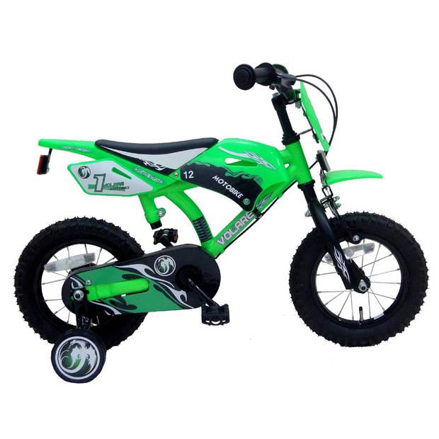 Volare Motobike jongensfiets - 12 inch - groen