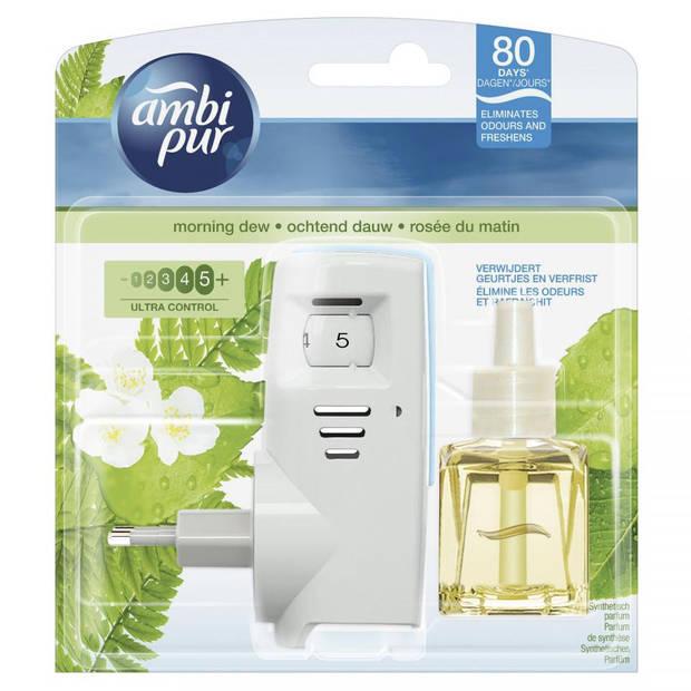 Ambi Pur luchtverfrisser Plug-In - Ochtend Dauw - 20 ml