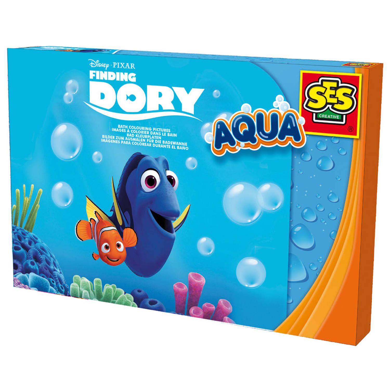 Disney Pixar Kleurplaten.Ses Aqua Disney Finding Dory Badkleurplaten Blokker