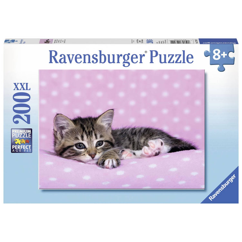 Ravensburger puzzel Tijd voor een dutje - 200 stukjes