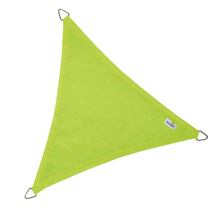 Schaduwdoek coolfit lime 3,6 x 3,6 x 3,6