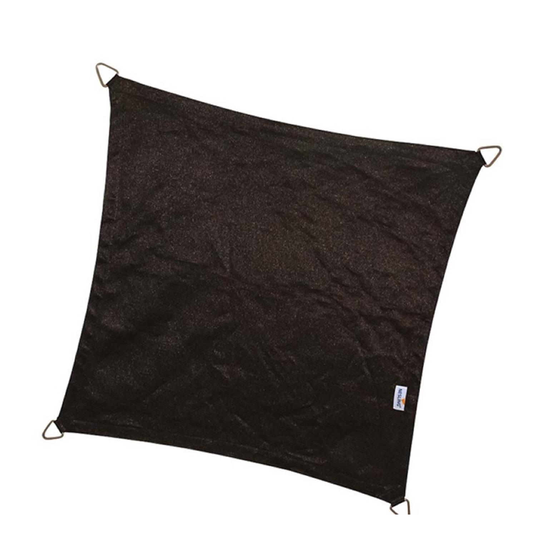 Schaduwdoek coolfit zwart 3,6 x 3,6 x 3,6 x 3,6