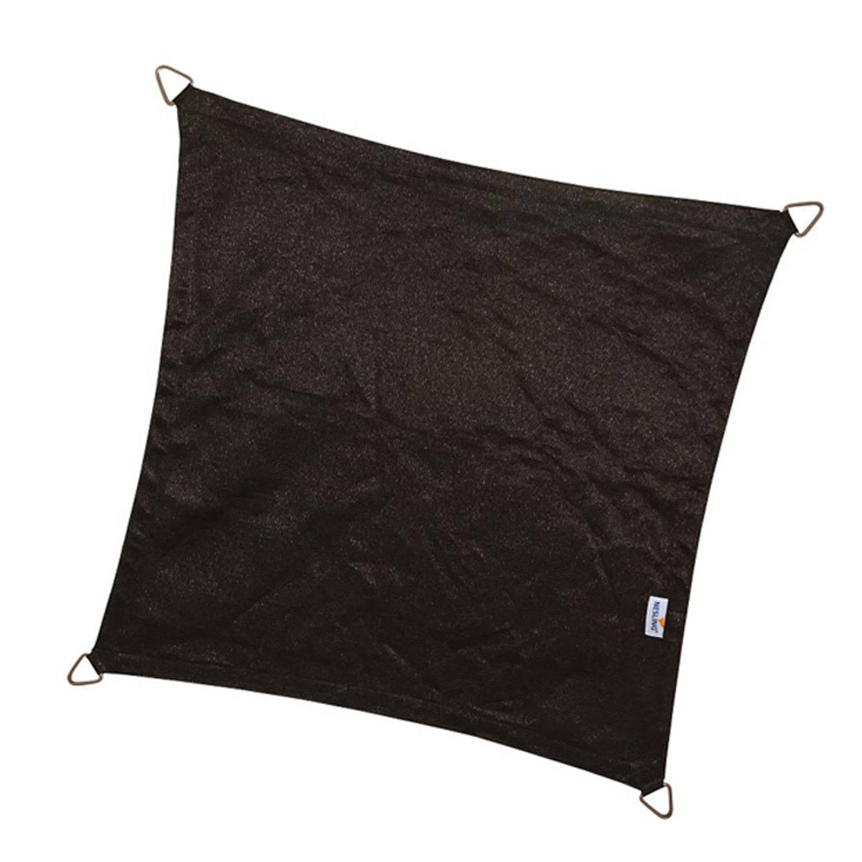 Schaduwdoek coolfit zwart 5,0 x 5,0 x 5,0 x 5,0