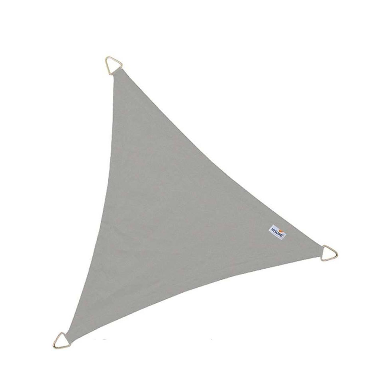 Schaduwdoek dreamsail waterdicht grijs 5,0 x 5,0 x 5,0