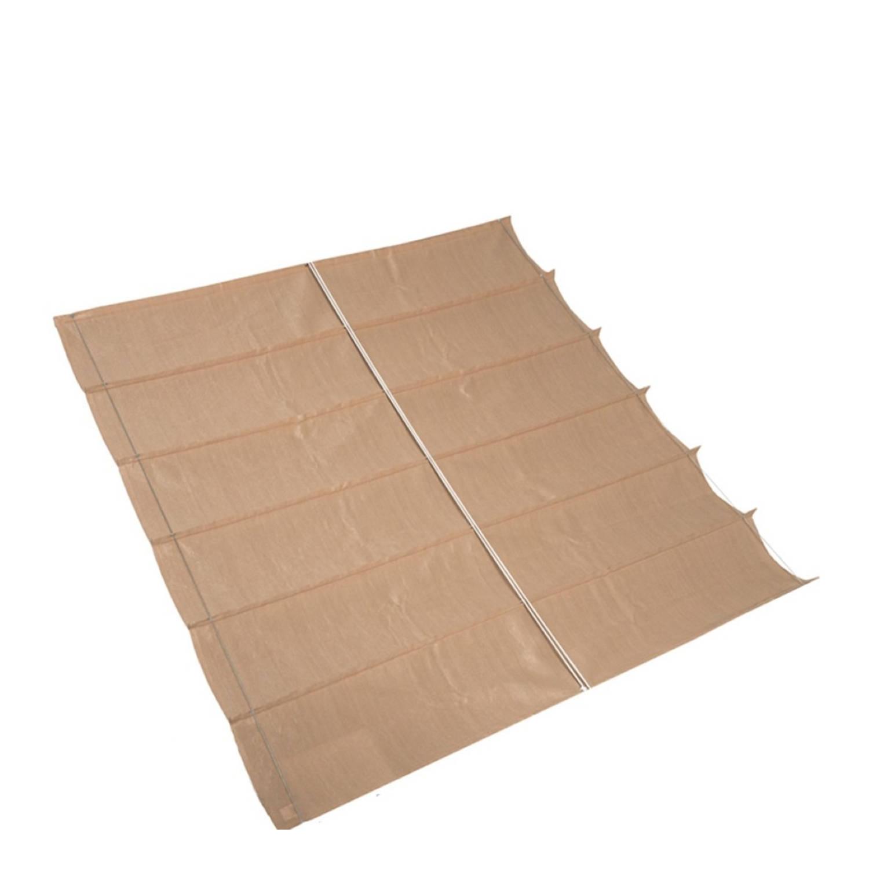 Nesling Coolfit Harmonica Schaduwdoek zand 2 x 4