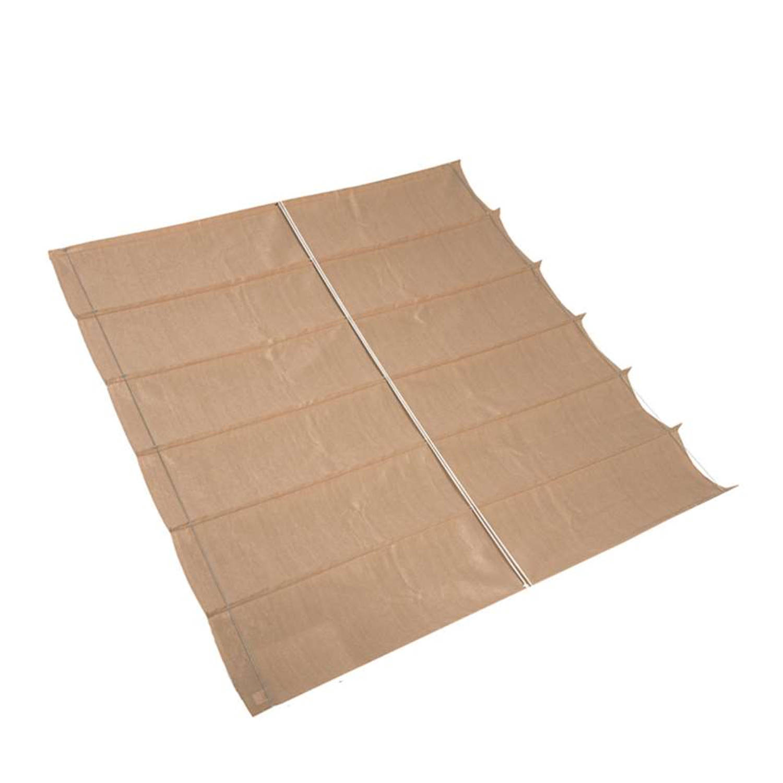 Nesling Coolfit Harmonica Schaduwdoek zand 2,9 x 4