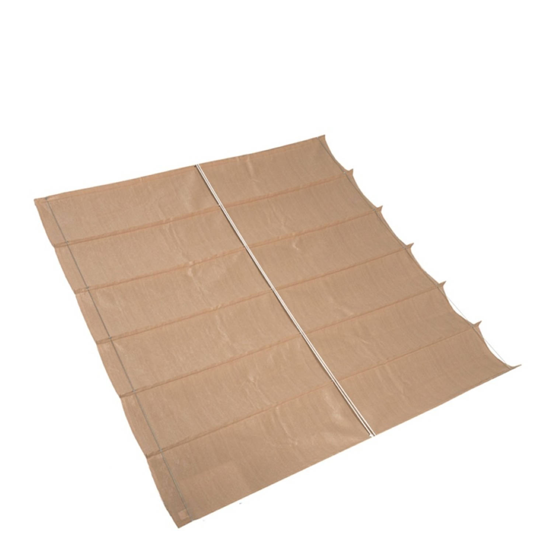 Nesling Coolfit Harmonica Schaduwdoek zand 3,7 x 3,7