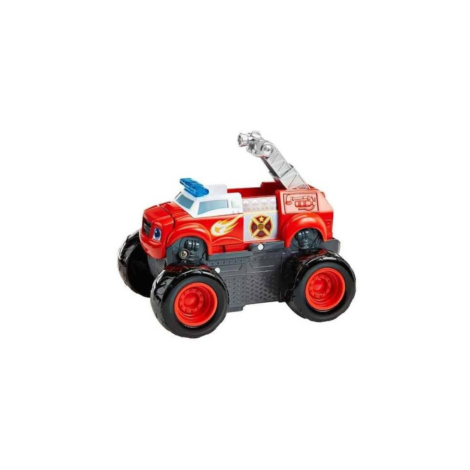 Fisher-Price Blaze en de Monsterwielen brandweerauto 2-in-1