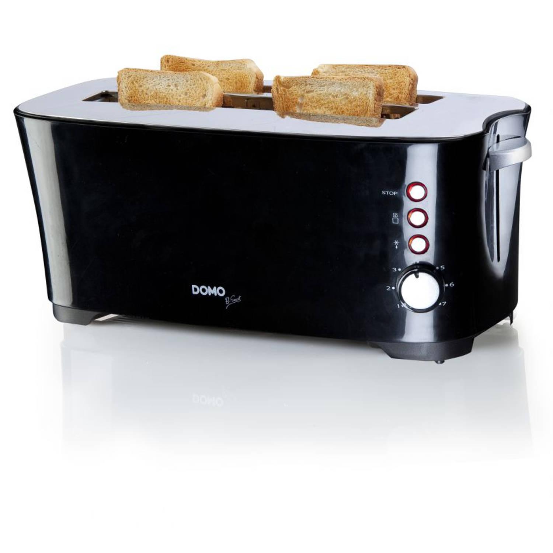 DOMO DO961T Broodrooster B-Smart 4 sneden