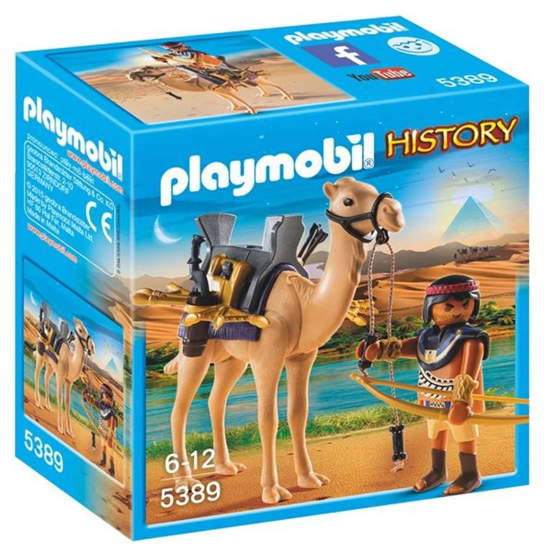 Playmobil Egyptische krijger met dromedaris