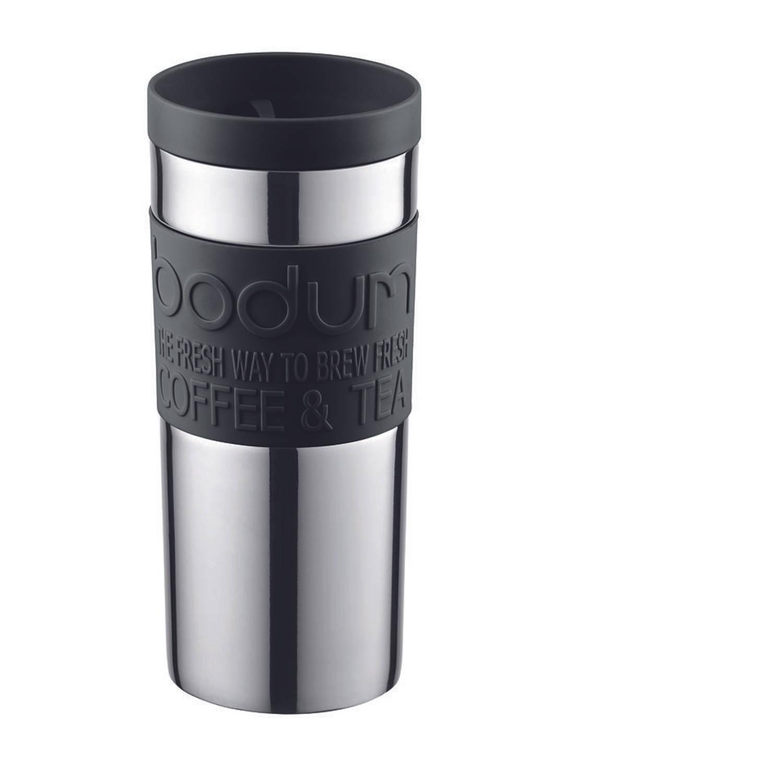 bodum thermosbeker rvs 0 35 liter zwart blokker. Black Bedroom Furniture Sets. Home Design Ideas
