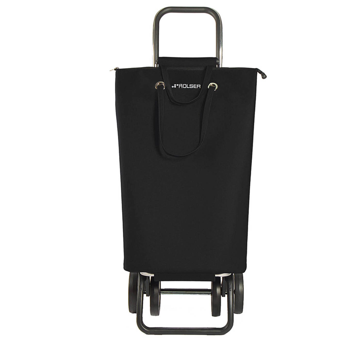 Rolser Super Bag Dos + 2 trolley - zwart