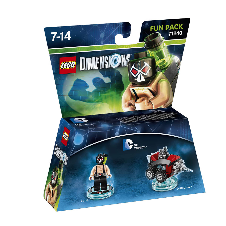 Lego dimensions fun pack, dc comics bane