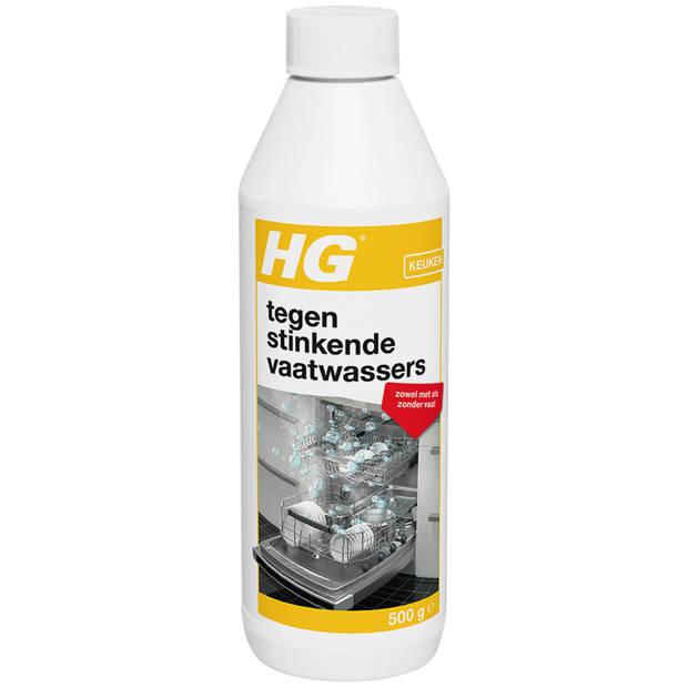 HG tegen stinkende vaatwasser reiniger