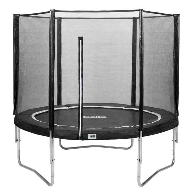 Salta Combo trampoline rond met veiligheidsnet - 213 cm - zwart