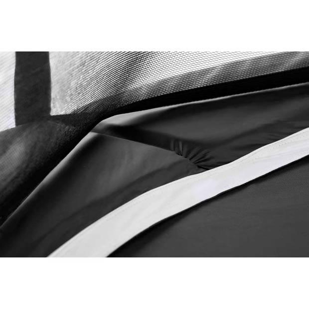 Salta Premium Black Edition trampoline rond met veiligheidsnet - 183 cm - zwart