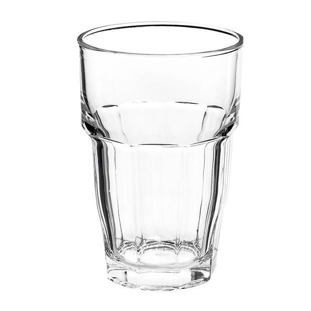 Bormioli Rocco Rock Bar longdrinkglas - 37 cl - 6 stuks