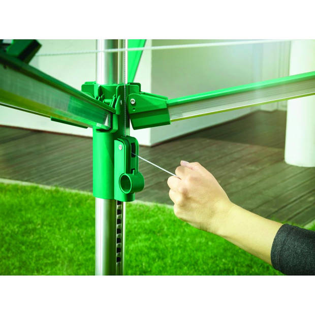 Leifheit Linomatic 400 VS droogmolen - met bodemhuls - 40 m