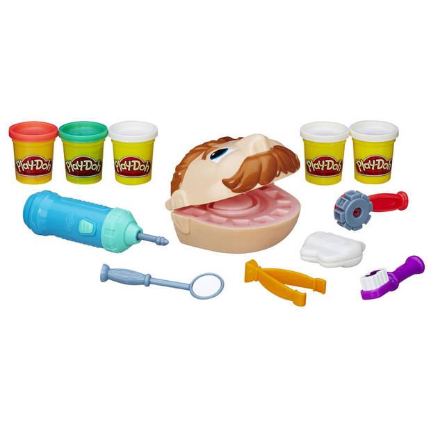 Play-Doh kleiset Bij de tandarts - multikleur