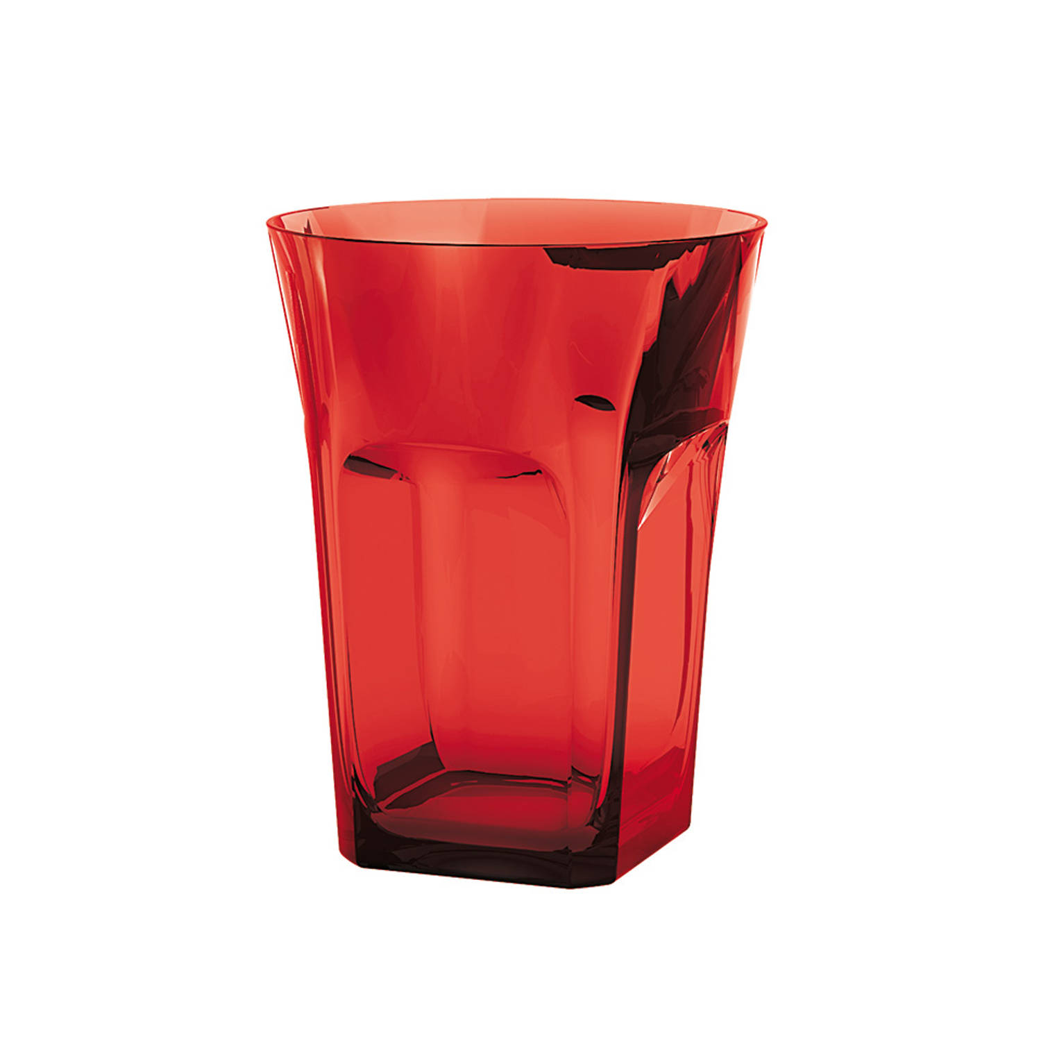 Guzzini Belle Epoque drinkglas - rood - 28 cl