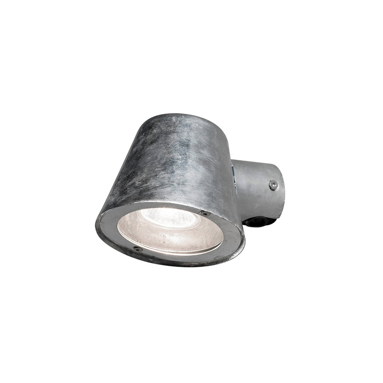 Trieste ronde tuin wandlamp downspot gegalvaniseerd GU10 7523-320