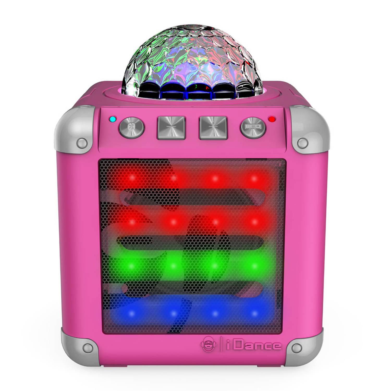 iDance Cube Mini 3 Disco Speaker - roze