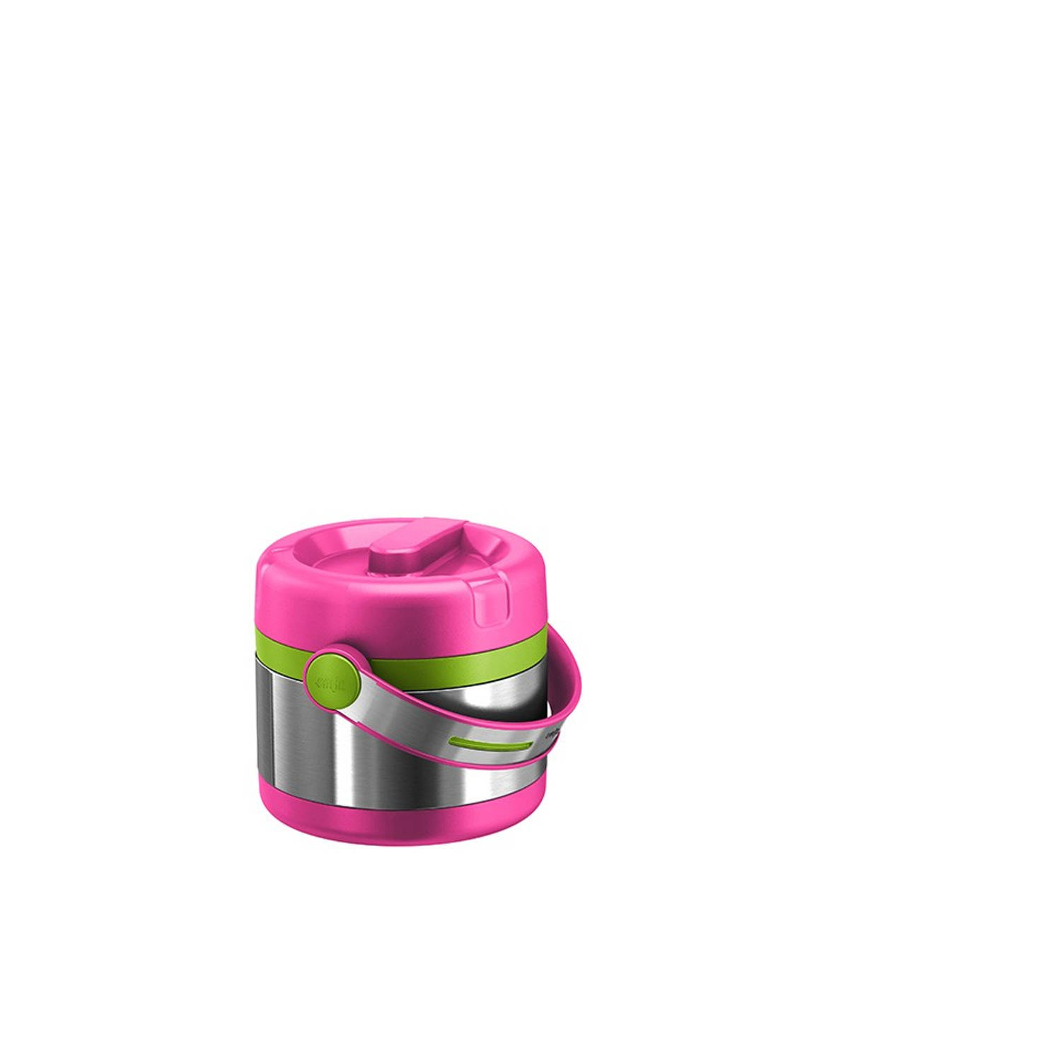 Emsa Mobility Kids thermos voedselcontainer - 0,35 L, pink/groen