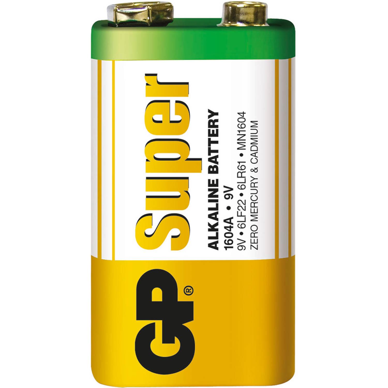 GP Super Alkaline 9V blok