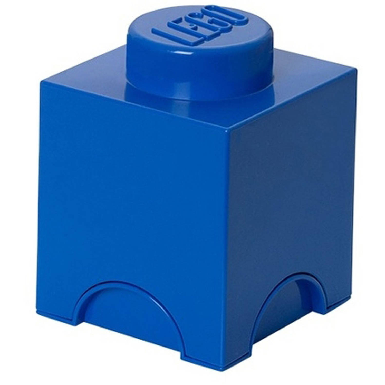 LEGO Brick 1 opbergbox - blauw