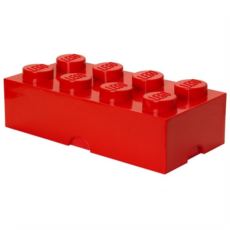 LEGO Brick 8 opbergbox - rood