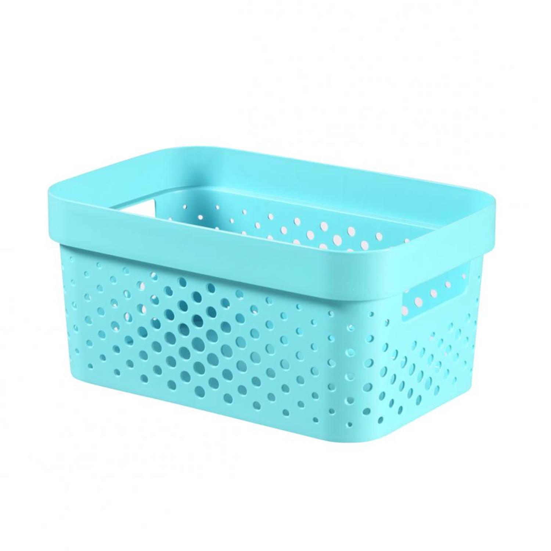 Curver Infinity Dots box - 4,5 l - blauw