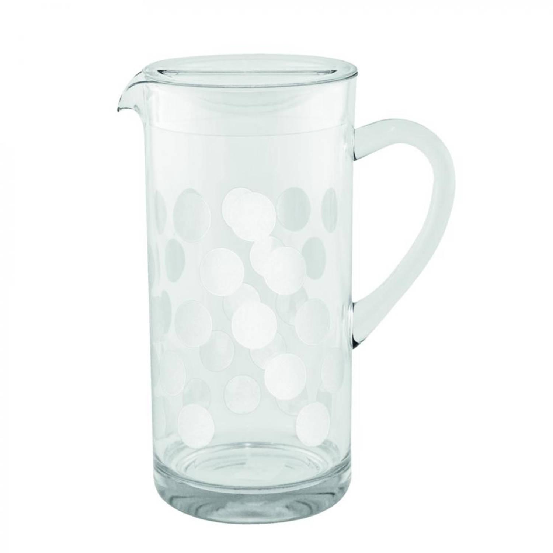 Zak!Designs DotDot schenkkan 1,7 liter wit