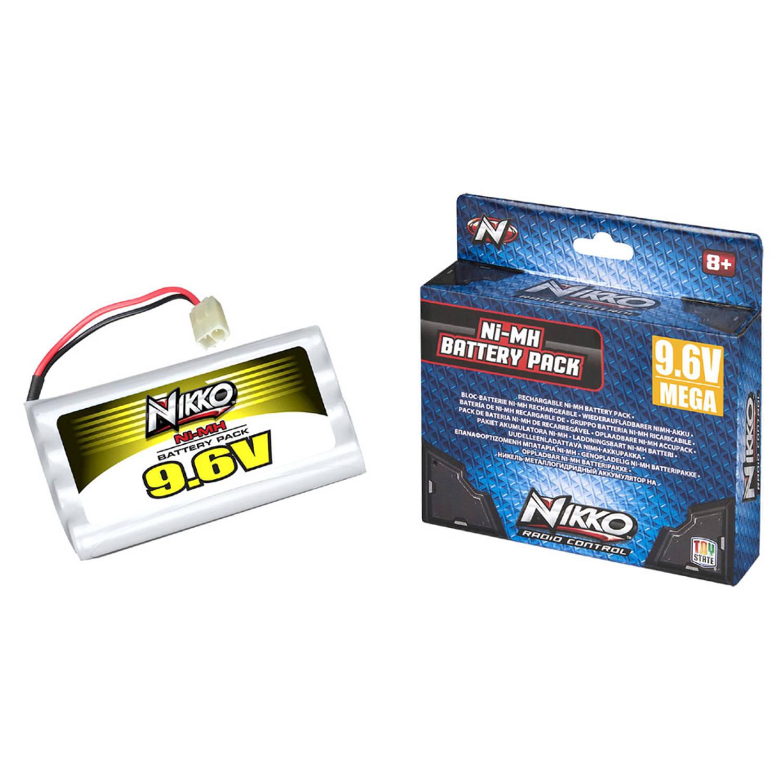 NIKKO Mega Pack Ni-MH 9,6 V batterij
